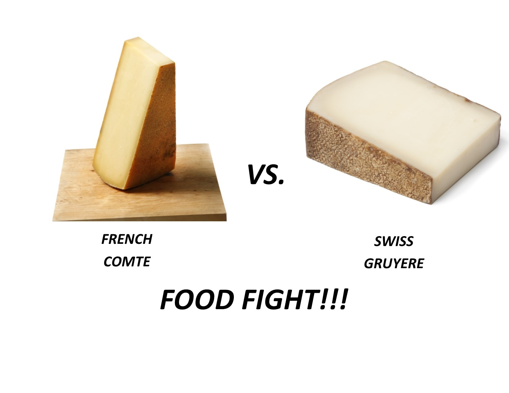 Comte vs Gruyere