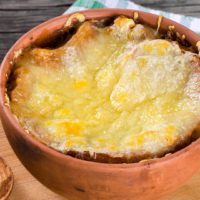 French onion soup, comte, cheese