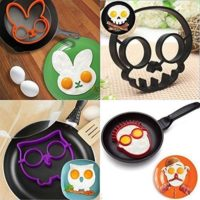 FUNNY SIDE UP EGG MOLDS (4 PIECES)