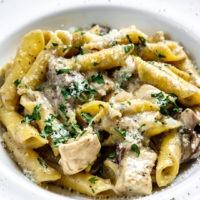 Italian Mushroom Sauce