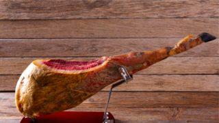 Jamon Iberico, green acorn, spanish ham