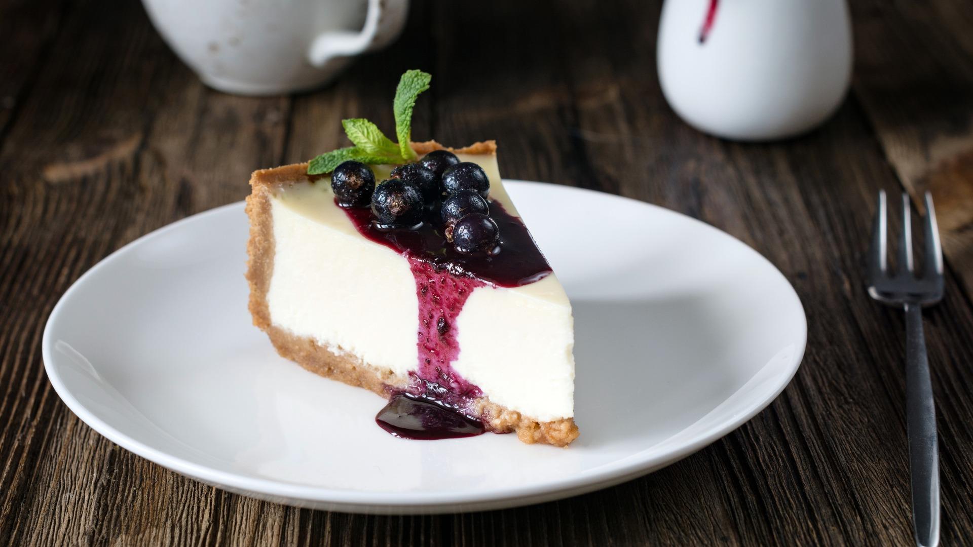 Neufchatel cheesecake, dessert