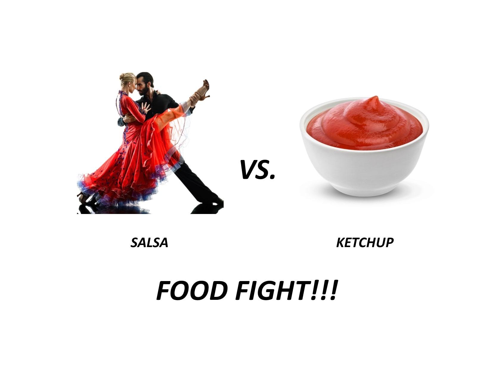Salsa vs Ketchup