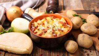 tartiflette, durrus cheese