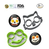 egg mold, tenta kitchen, frog, cat