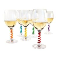 WINE CHARMS (6 PIECES)