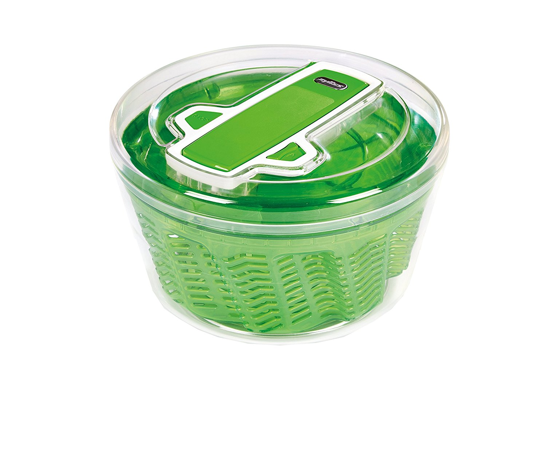 swift salad spinner, zyliss, salad, spinner, dryer