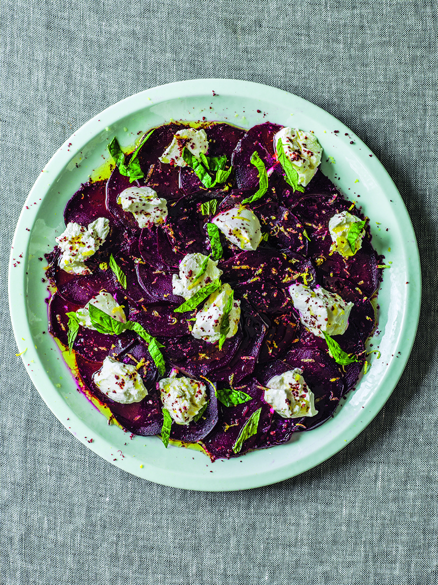 Labneh Beets