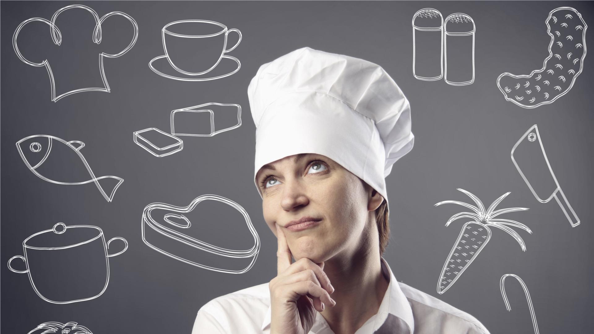 Chef thinking