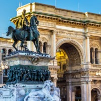 Galleria Vittorio Emanuelle Milan Italy