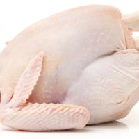 whole chicken, raw
