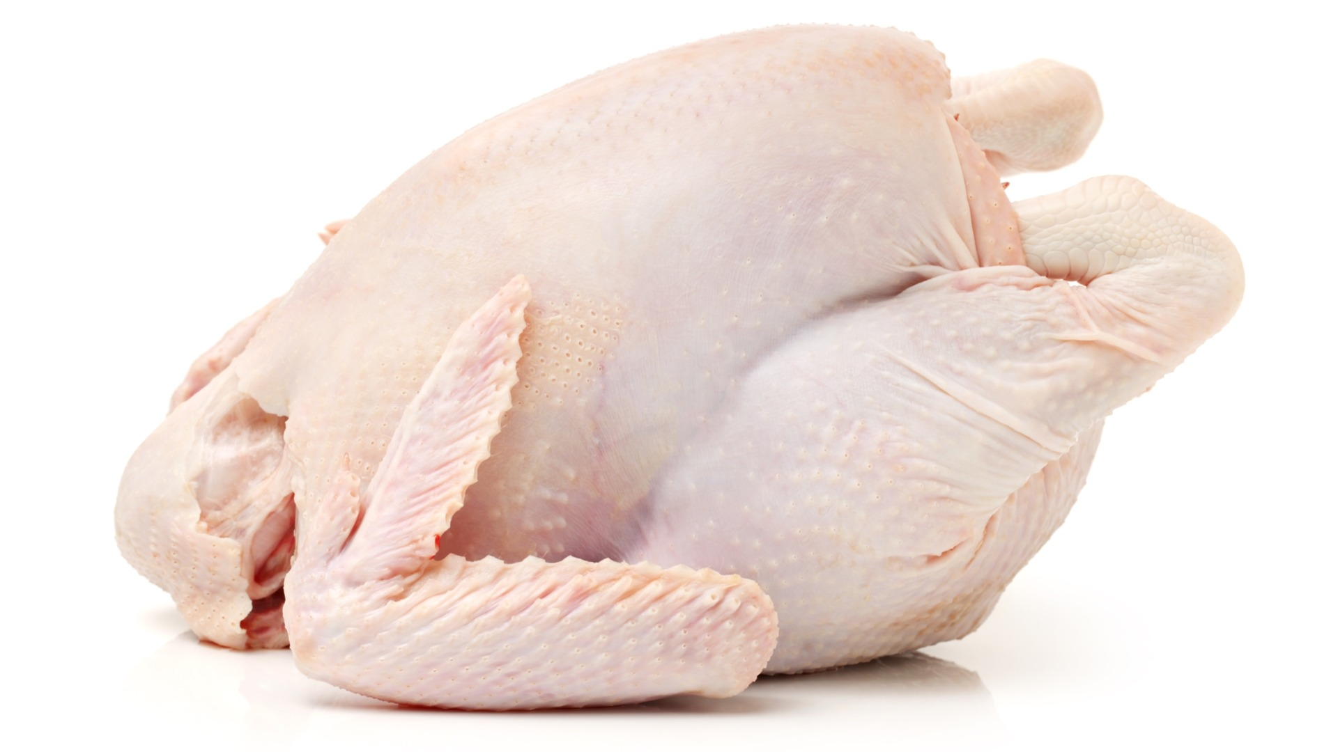whole chicken, raw