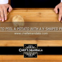 Lesson 2 – How to Peel a Potato (with a Y-shaped Peeler)