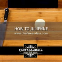 Lesson 4 – How to Julienne a Potato