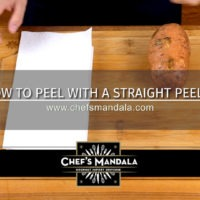 Lesson 5 – How to Peel a Sweetpotato (with a Straight Peeler)