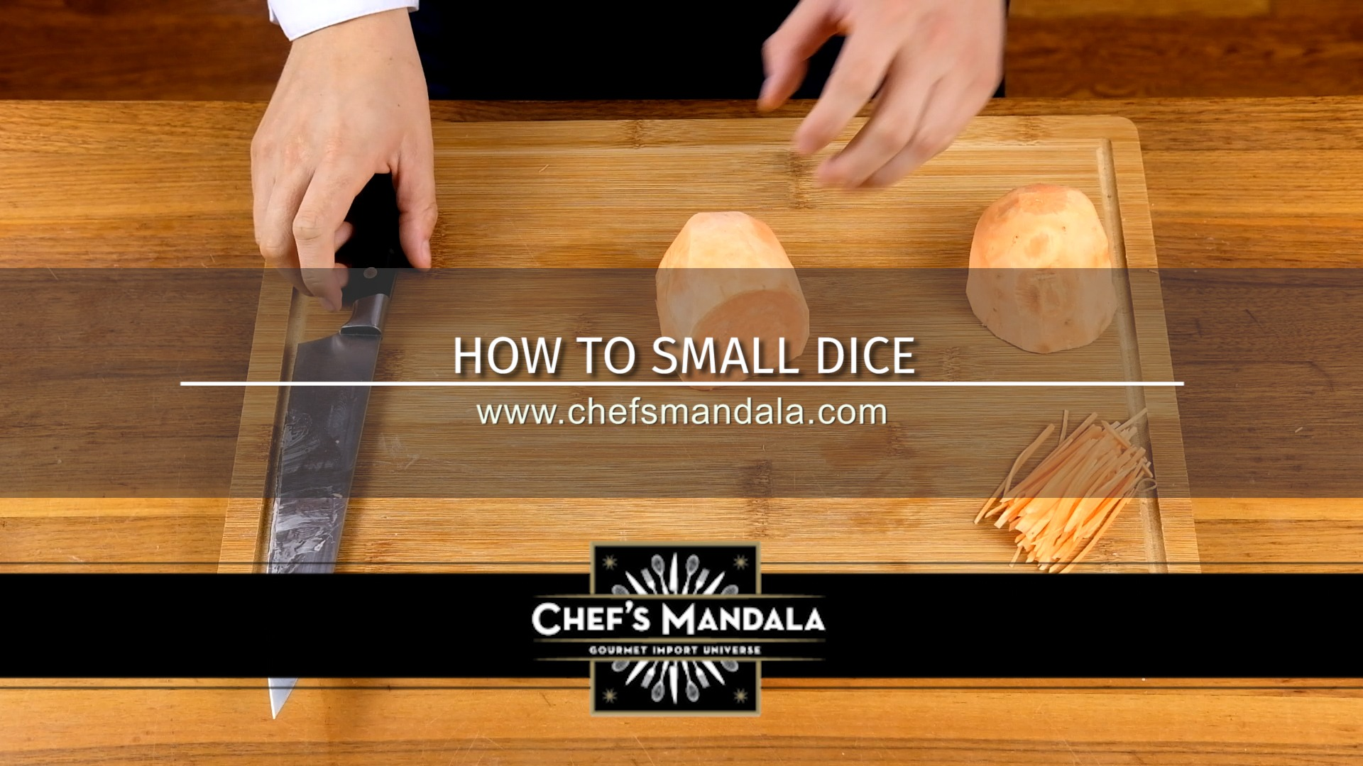 HOW TO SMALL DICE