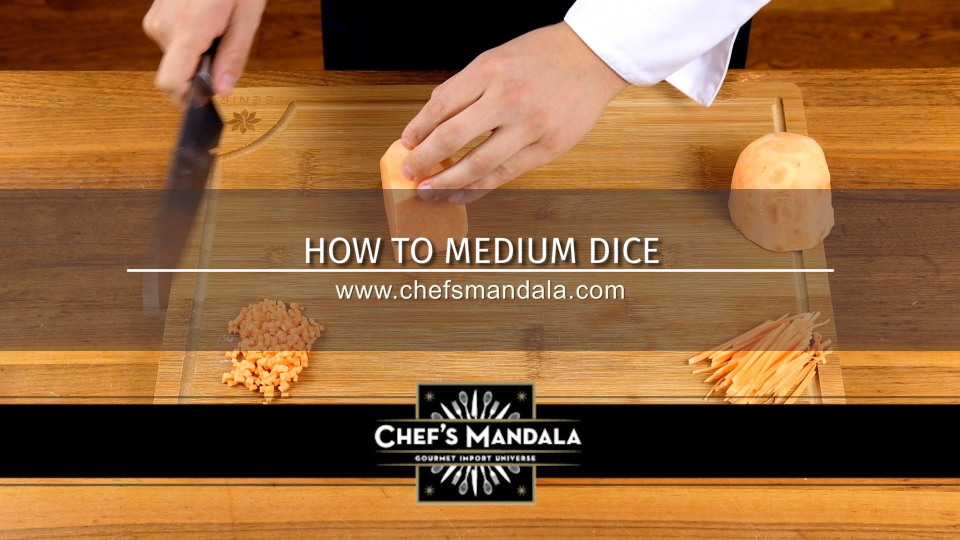 HOW TO MEDIUM DICE