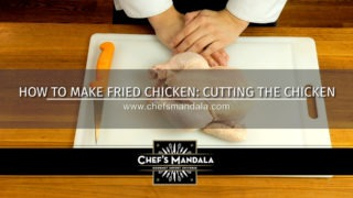 CUTTING THE CHICKEN