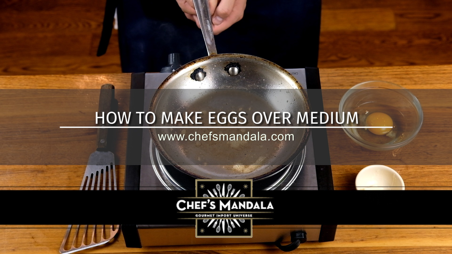 how to make eggs over medium
