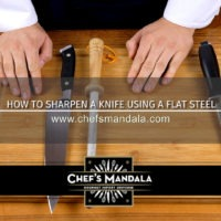 Lesson 12 – How to Sharpen a Knife on Flat Steel