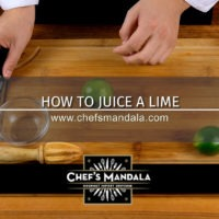Lesson 32 – How to Juice a Lime
