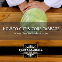 Lesson 41 – How to Cut & Core a Cabbage