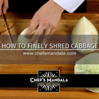 HOW TO FINELY SHRED CABBAGE