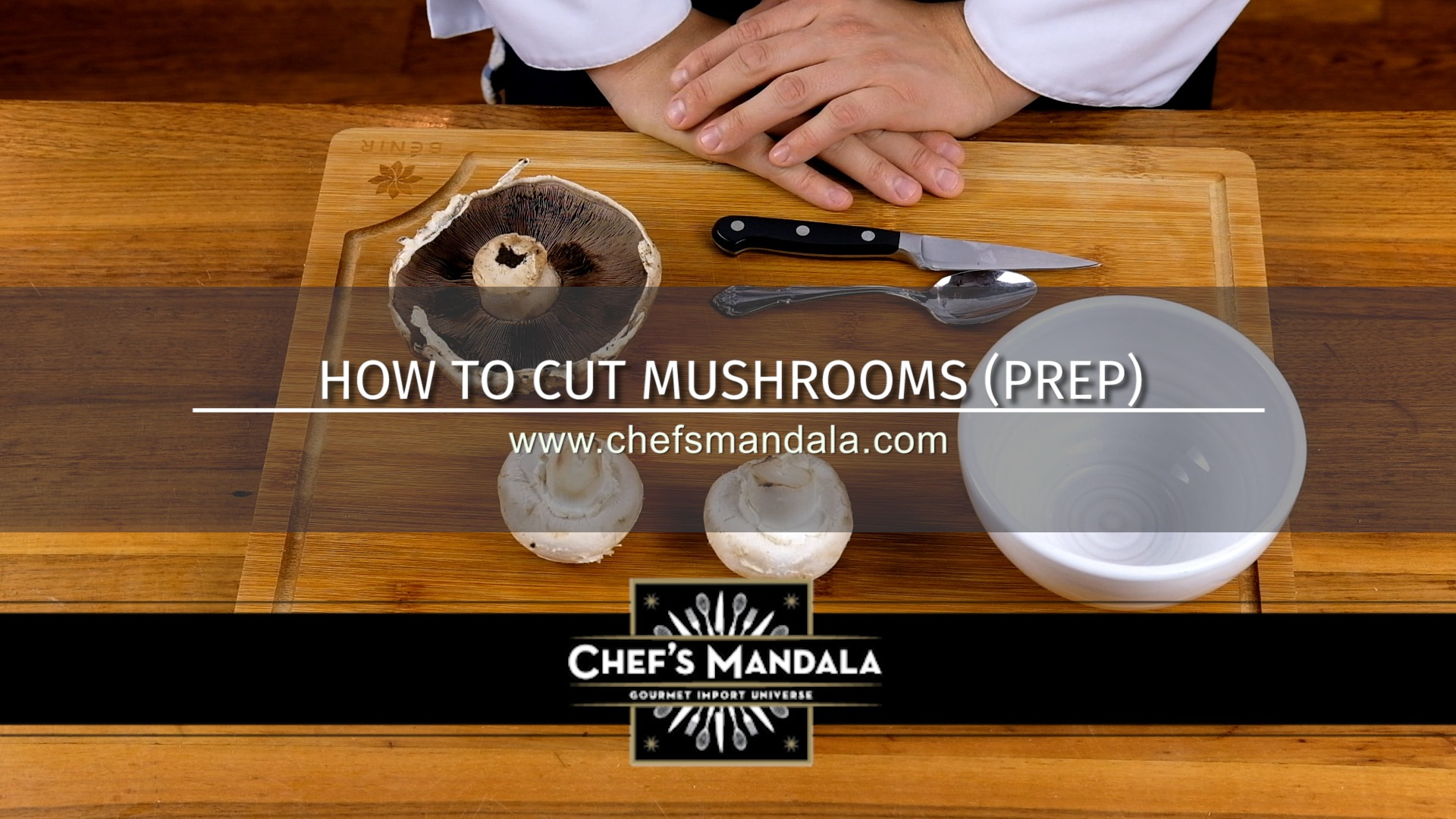 HOW TO PREP MUSHROOMS FOR COOKING