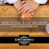 Lesson 56 – How to Peel & Cut an Onion