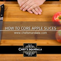 Lesson 60 – How to Core Apple Slices
