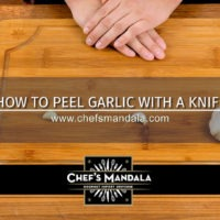 Lesson 63 – How to Peel Garlic (with a Knife)