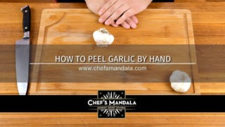 HOW TO PEEL GARLIC BY HAND