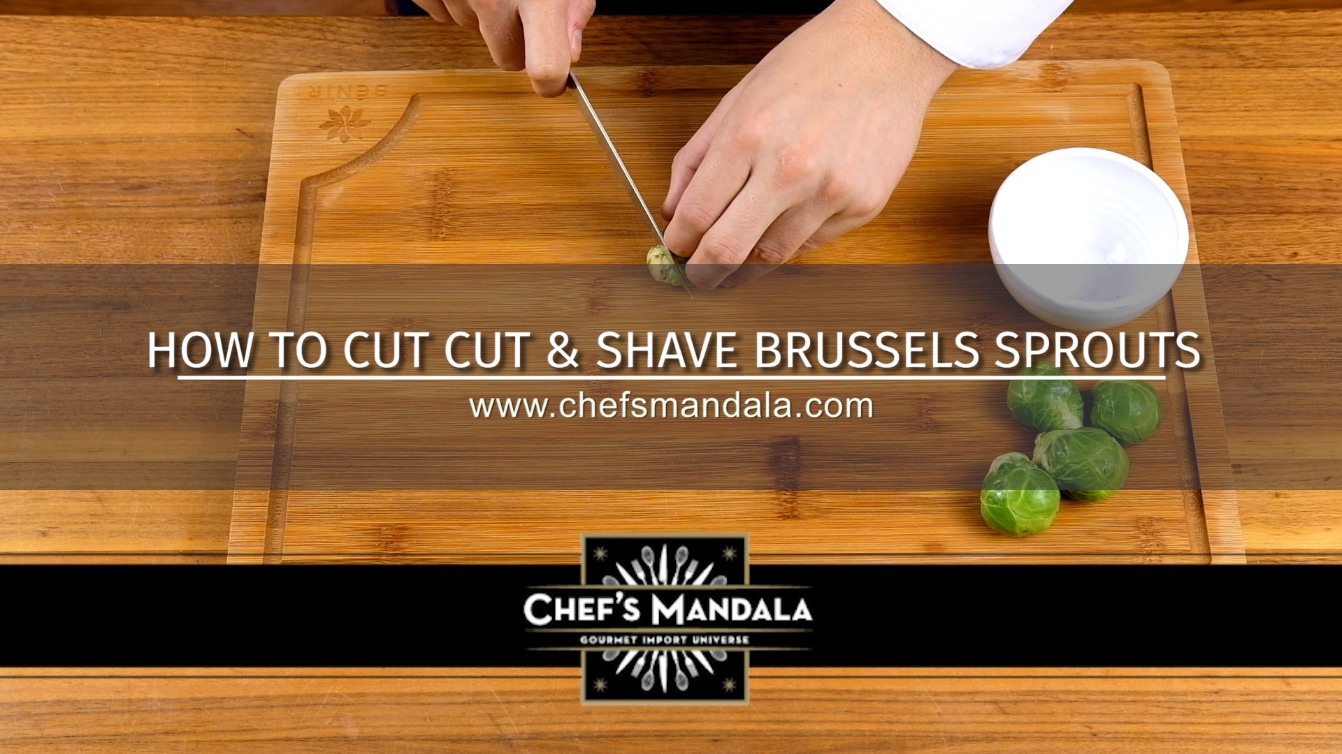 HOW TO CUT & SHAVE BRUSSELS SPROUTS