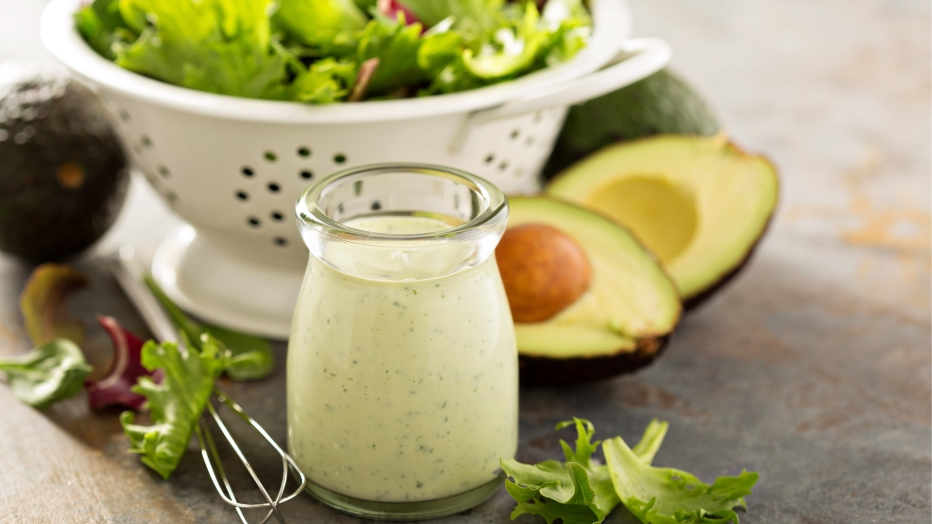 Lime Vinegar Mexican Avocado Ranch Dressing