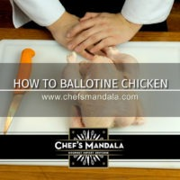 Chef's Mandala How to Ballotine a Chicken