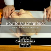 Lesson 115 – How to Ballotine (de-bone) a Duck