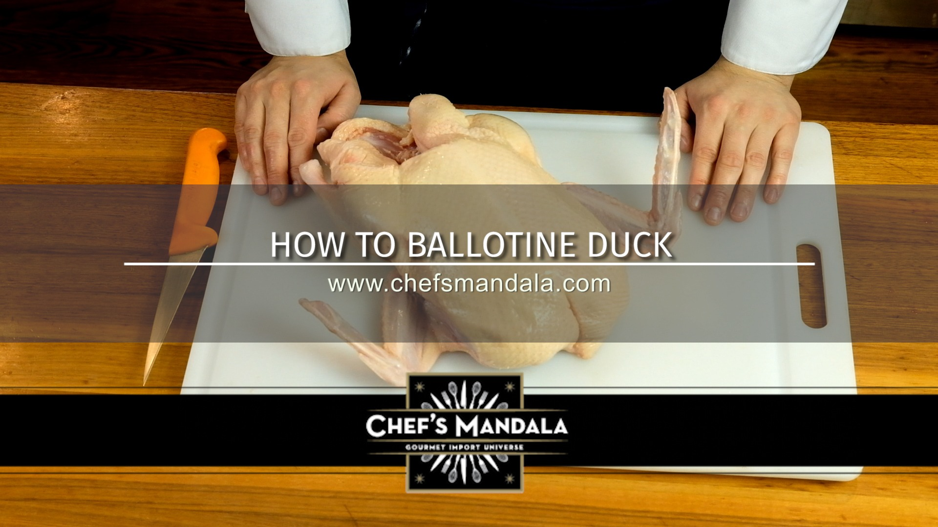 Chef's Mandala How to Ballotine a Duck