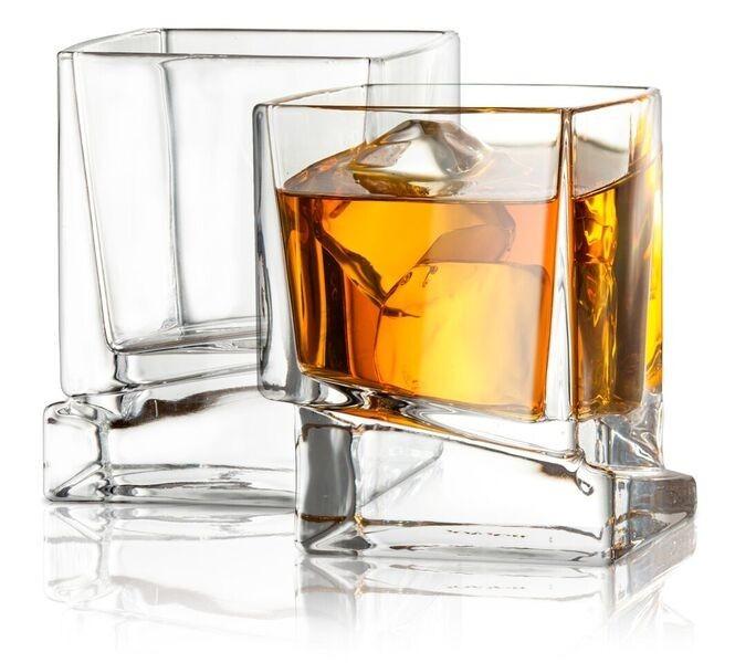Afina Square Whiskey Glass
