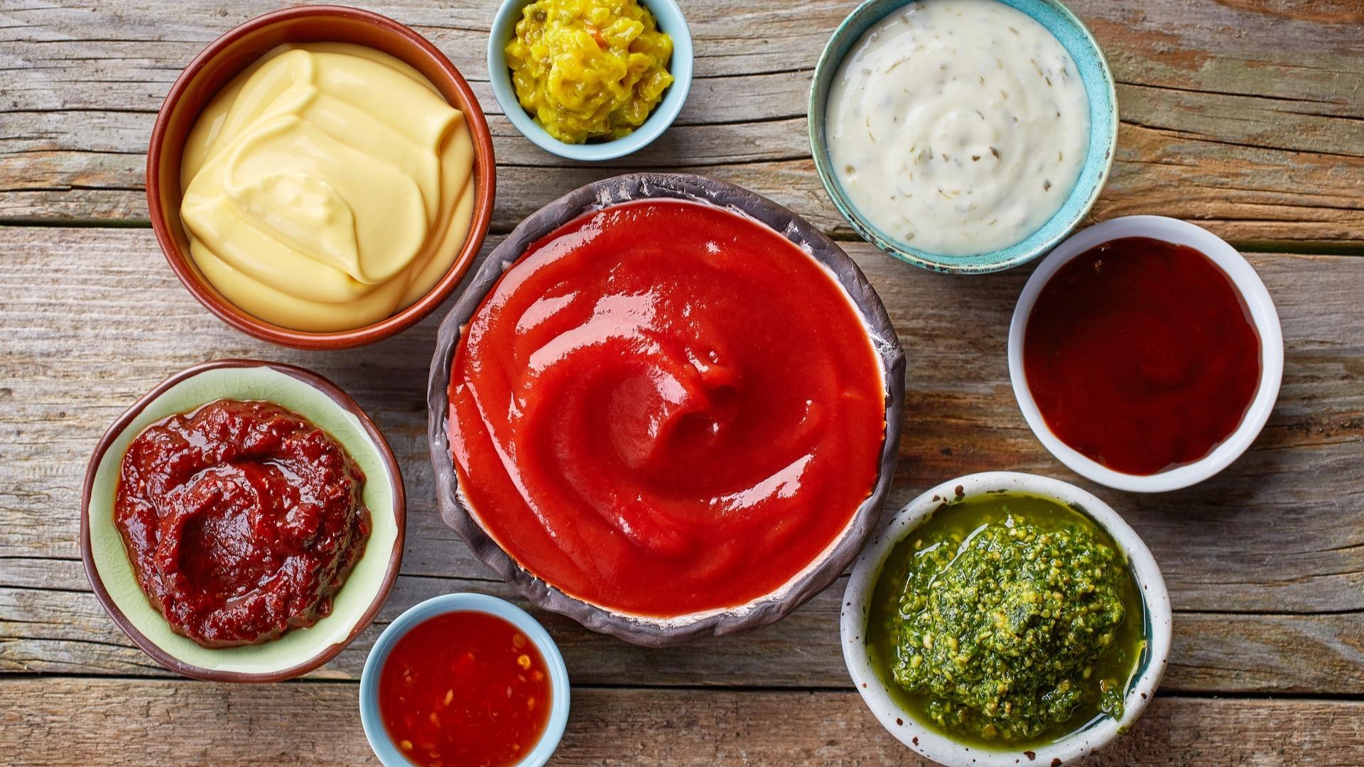 Various Condiments