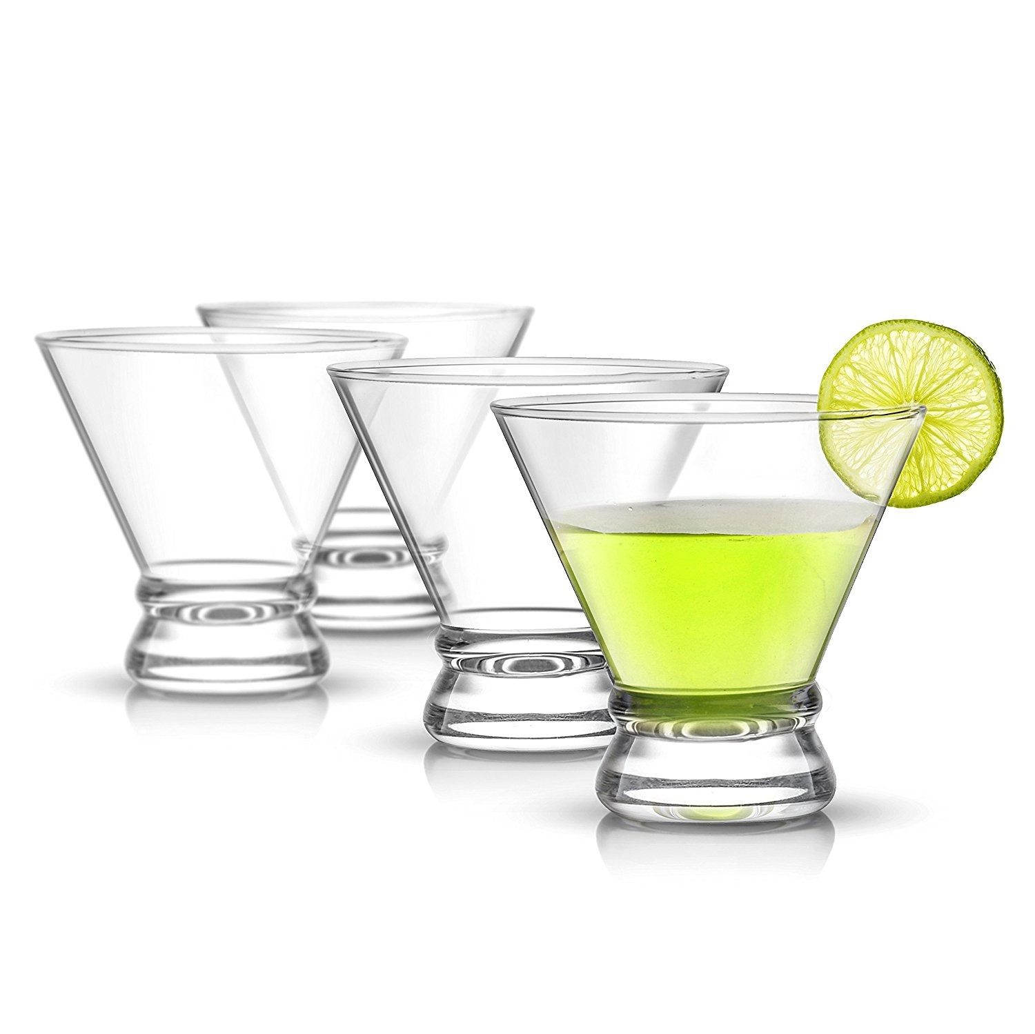 JoyJolt Afina Cocktail Glass Set
