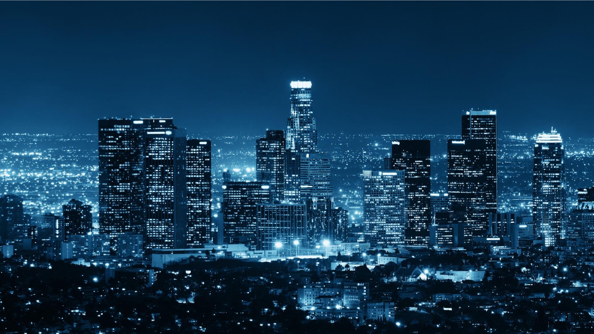 LA Skyline Night