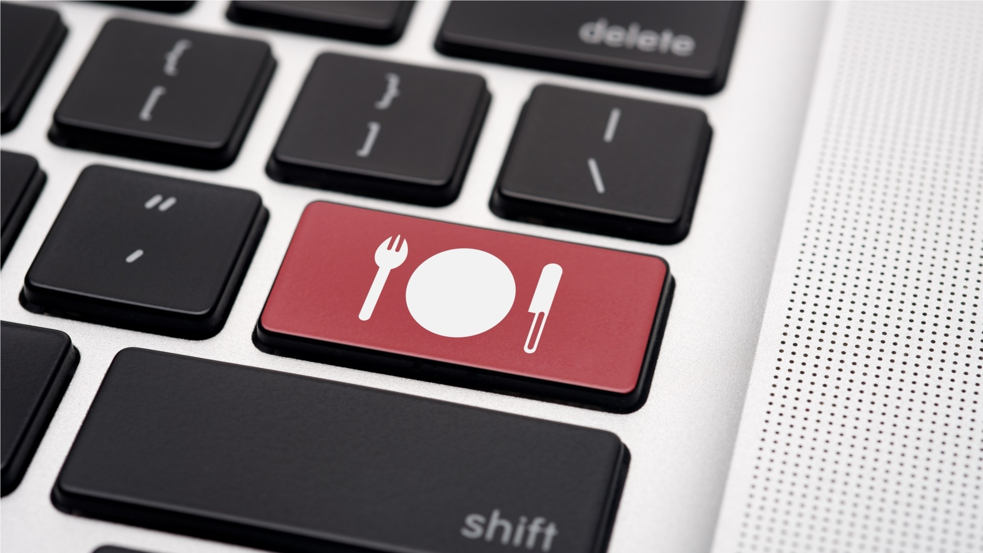 Food Keyboard Key