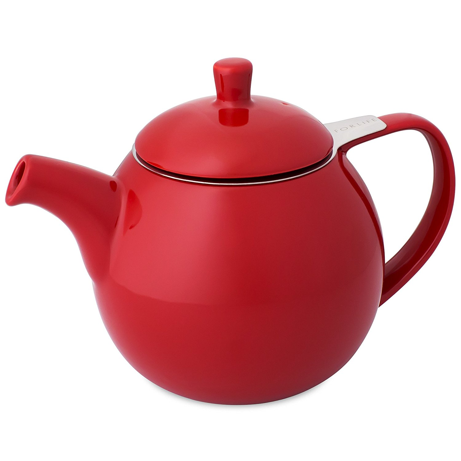 ForLife Curve Red Teapot