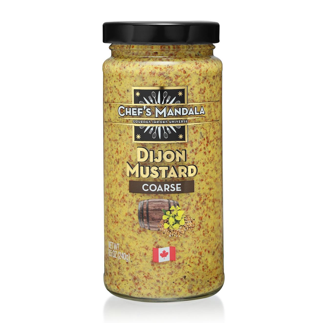 dijon, coarse, mustard
