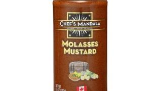 molasses, mustard